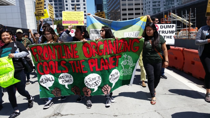 Youth-lead-March-for-Environmental-and-Climate-Justice-April-21-2017